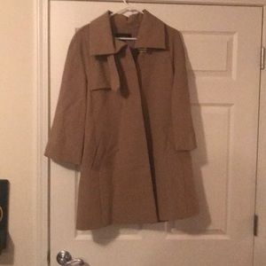 Ann Taylor Trench Coat Cape